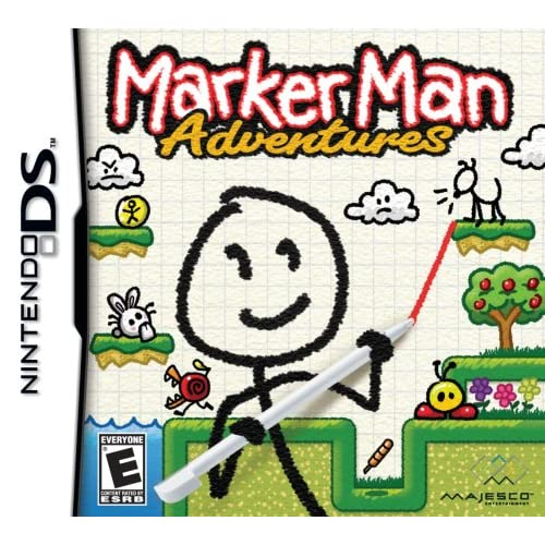 Image 0 of Marker Man Adventures For Nintendo DS DSi 3DS 2DS