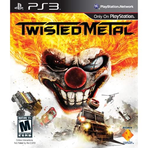 Twisted Metal For PlayStation 3 PS3 Fighting