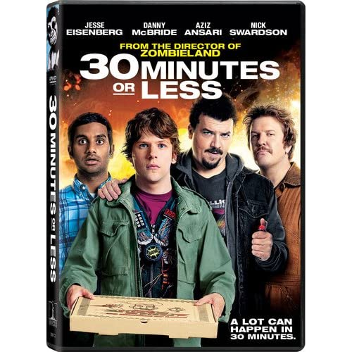 Image 0 of 30 Minutes Or Less On DVD With Jesse Eisenberg Comedy