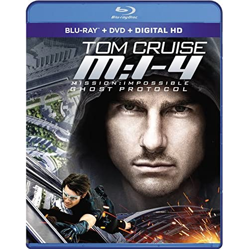 Image 0 of Mission: Impossible Ghost Protocol Blu-Ray On Blu-Ray With Tom Cruise