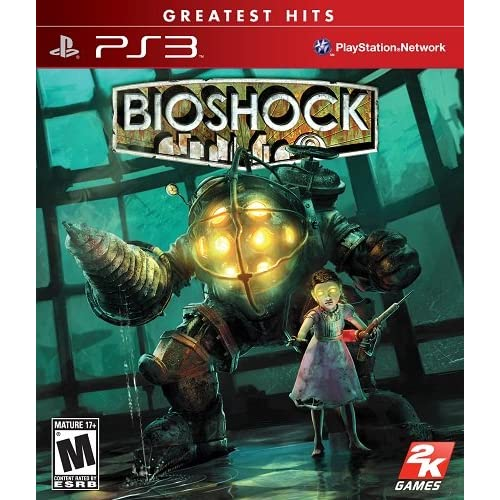 Shooter Games For Ps3 : Bioshock for playstation ps shooter