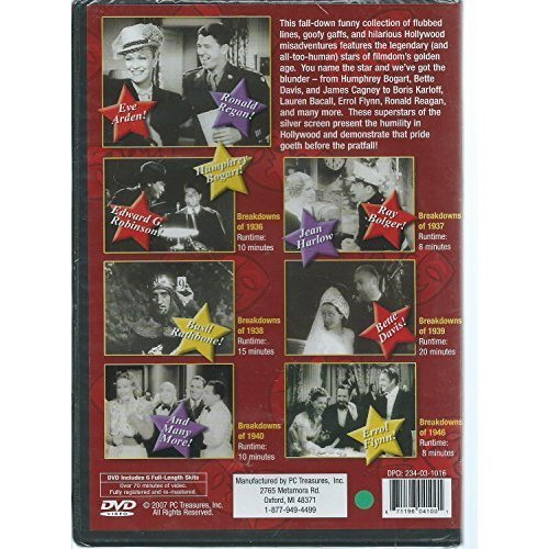 Image 0 of All-Star Bloopers Featuring 6 Madcap Years On DVD Comedy