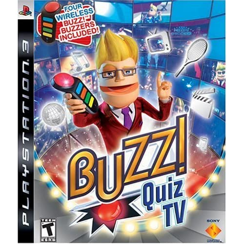 Buzz! Quiz TV For PlayStation 3 PS3 Trivia