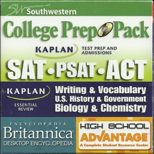 College Prep Pack: Sat Psat Act: Writing And Vocabulary US History And