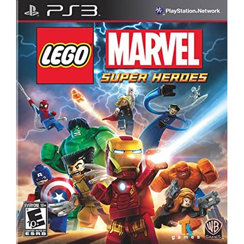 Lego: Marvel Super Heroes For PlayStation 3 PS3