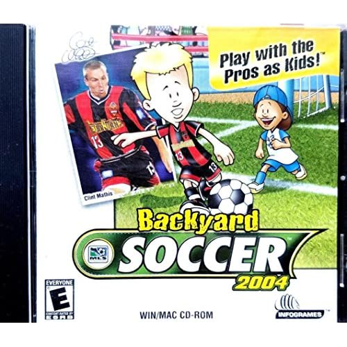 Backyard Soccer 2004 Play With The Pros As Kids! Software
