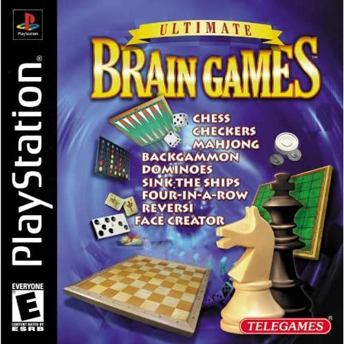 Image 0 of Ultimate Brain Games PlayStation For PlayStation 1 PS1