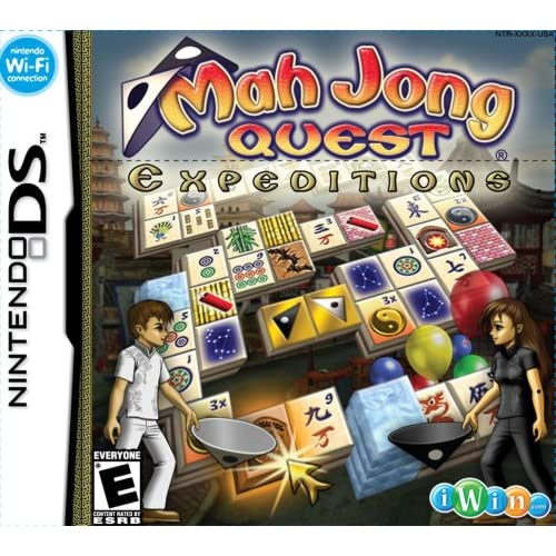 Image 0 of Mah Jong Quest Expeditions For Nintendo DS DSi 3DS 2DS Puzzle