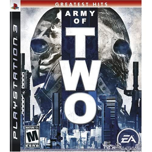 Army Of Two For PlayStation 3 PS3 2 Fighting
