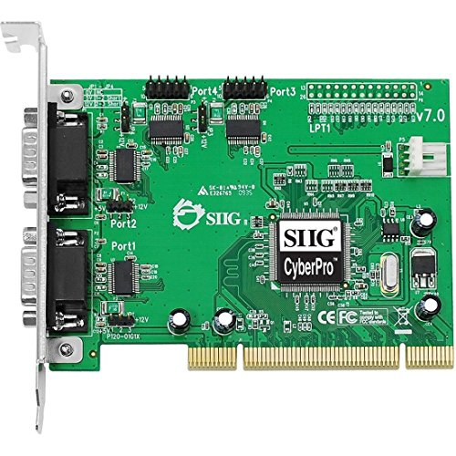 4PORT DB9 PCIe RS232 550 PCI Cyberserial 4S JJ-P45012-S7