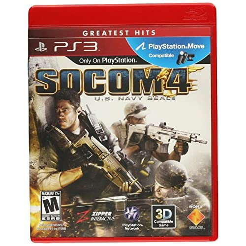 Image 0 of Socom 4: US Navy Seals For PlayStation 3 PS3 Shooter