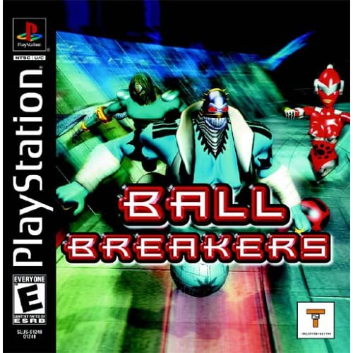 Ball Breakers For PlayStation 1 PS1