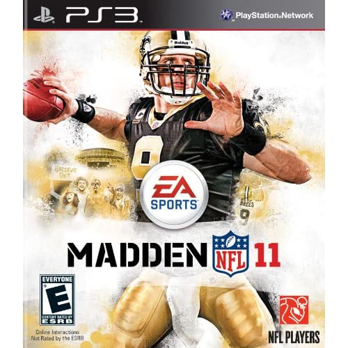 Madden NFL 11 For PlayStation 3 PS3 Football