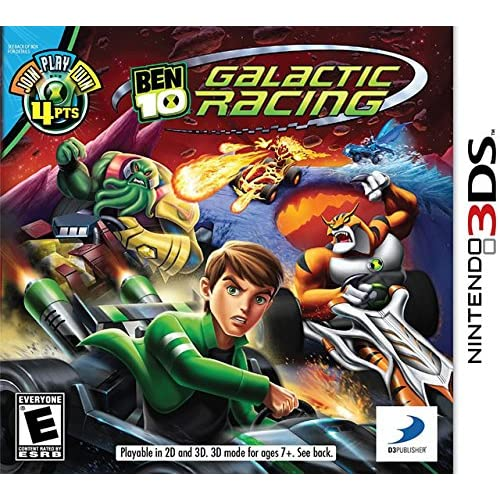 Ben 10 Galactic Racing Nintendo For 3DS