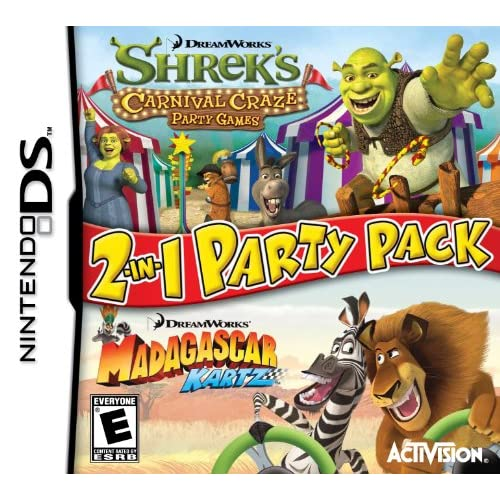 Image 0 of Dreamworks Party Pack For Nintendo DS DSi 3DS Racing