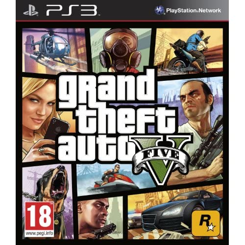 Image 0 of Grand Theft Auto V For PlayStation PS3 GTA 5