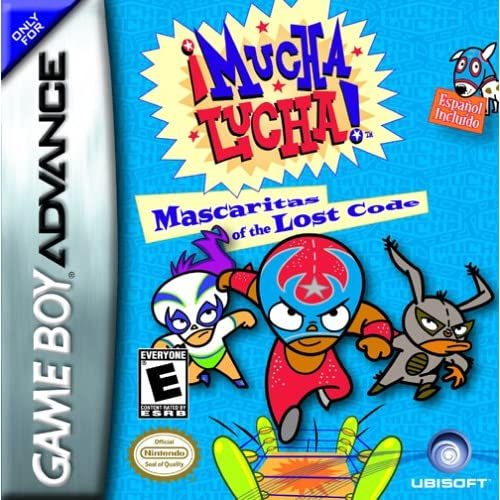 Image 0 of Mucha Lucha! Mascaritas Of The Lost Code For GBA Gameboy Advance