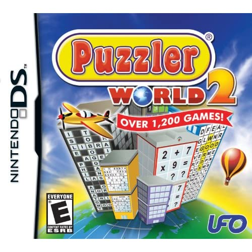 Image 0 of Puzzler World 2 For Nintendo DS DSi 3DS 2DS Puzzle