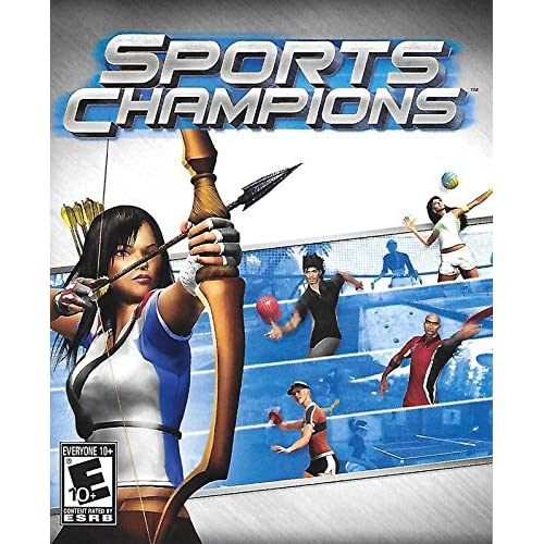 Sports Champions PS3 Sony PlayStation 3  With Manual and Case