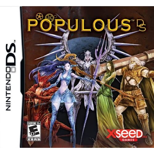 Image 0 of Populous For Nintendo DS DSi 3DS 2DS Strategy
