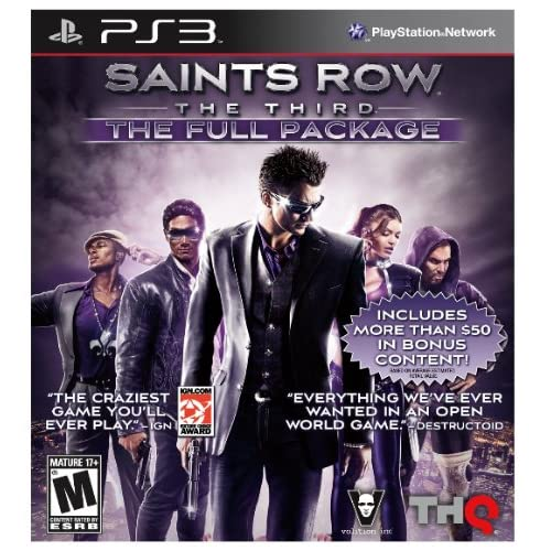 Saints Row The Third The Full Package For PlayStation 3 PS3
