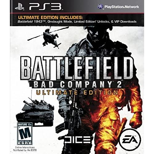 Image 0 of Battlefield Bad Company 2 Ultimate Edition For PlayStation 3 PS3