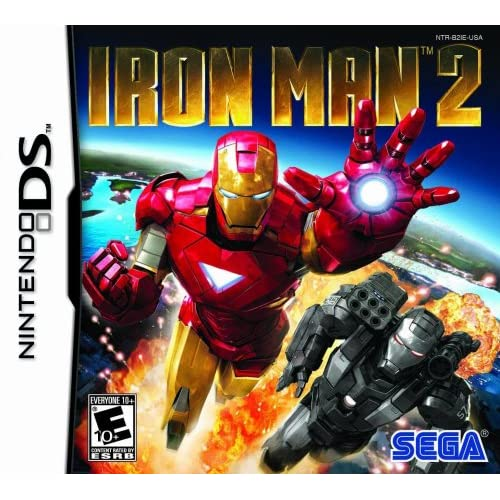 Image 0 of Iron Man 2 For Nintendo DS DSi 3DS 2DS