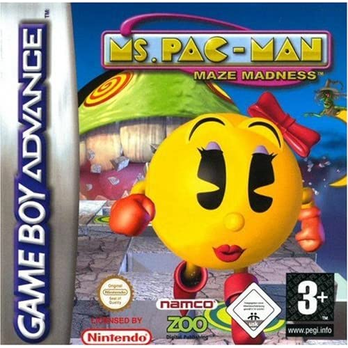 Image 0 of Ms Pacman Maze Madness GBA For GBA Gameboy Advance Arcade