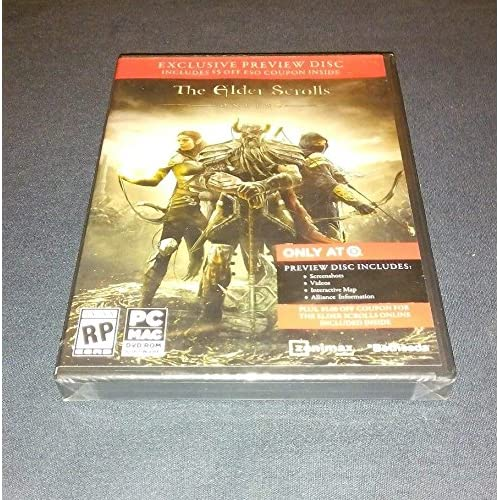Image 0 of Elder Scrolls Online Target PreOrder Preview Disc For PC Or MAC Rom