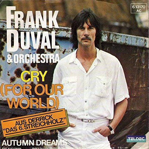 Image 0 of Frank Duval & Orchestra Cry For Our World Teldec 6.13 170 Teldec 6.13170 By Fran