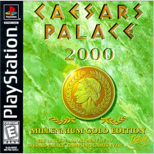 Caesars Palace 2000: Millenium Gold Edition For PlayStation 1 PS1