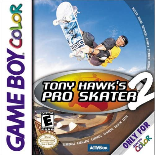 Image 0 of Tony Hawk's Pro Skater 2 On Gameboy Color