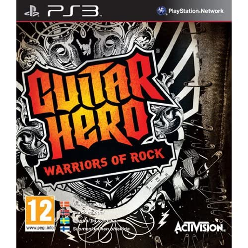 Guitar Hero: Warriors Of Rock Stand-Alone Software For PlayStation 3 PS3 Music
