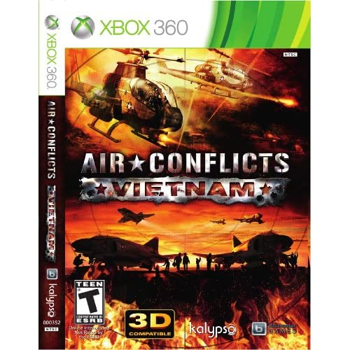 Air Conflicts: Vietnam Xbox 360 For Xbox Original Shooter With Manual and Case
