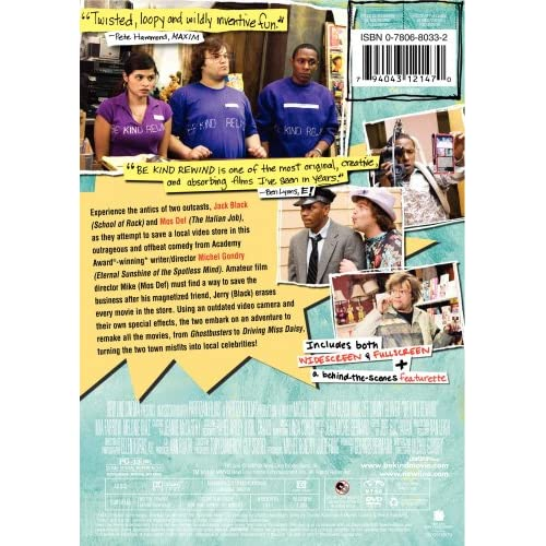 Image 3 of Be Kind Rewind On DVD with Jack Black Music & Concerts