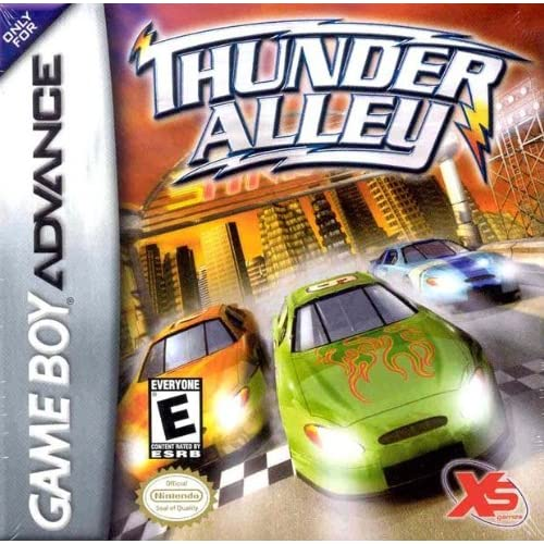 Image 0 of Thunder Alley For GBA Gameboy Advance Racing