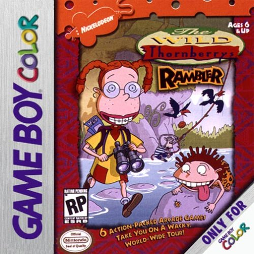 The Wild Thornberrys Rambler On Gameboy Color