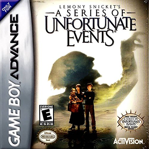 Lemony Snicket's A Series Of Unfortunate Events For GBA Gameboy