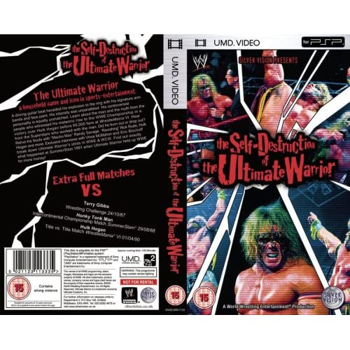 The WWE: The Self Destruction Of The Ultimate Warrior UMD For PSP
