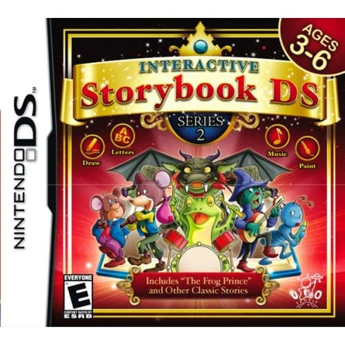 Image 0 of Interactive Storybook Series 2 For Nintendo DS DSi 3DS 2DS Puzzle
