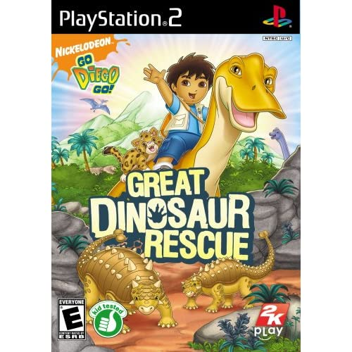 Image 0 of Go Diego Go!: Great Dinosaur Rescue For PlayStation 2 PS2