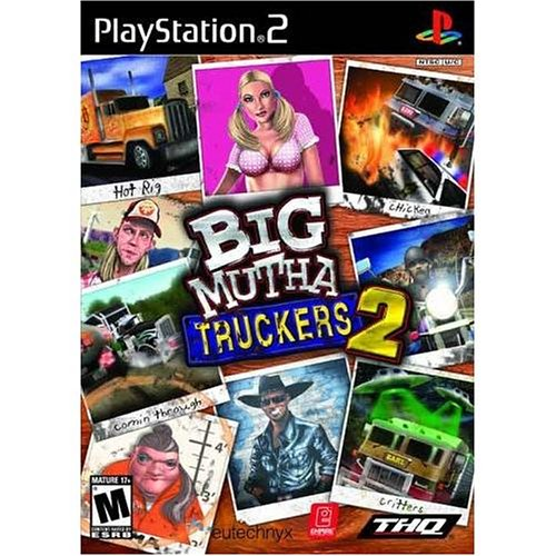 Big Mutha Truckers 2 For PlayStation 2 PS2 Flight With Manual and Case