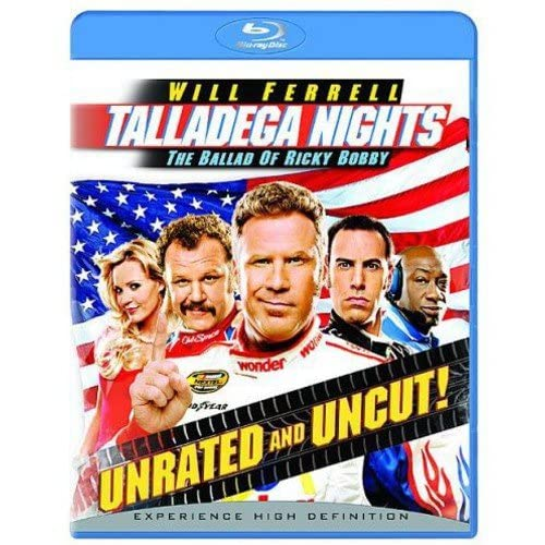 Image 0 of Talladega Nights T Blu-Ray On Blu-Ray With Michael Clarke Duncan Comedy