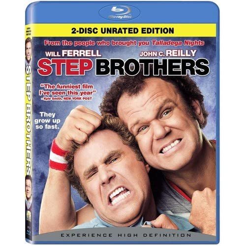 Image 0 of Step Brothers Rated/unrated Blu-Ray On Blu-Ray With Will Ferrell Comedy