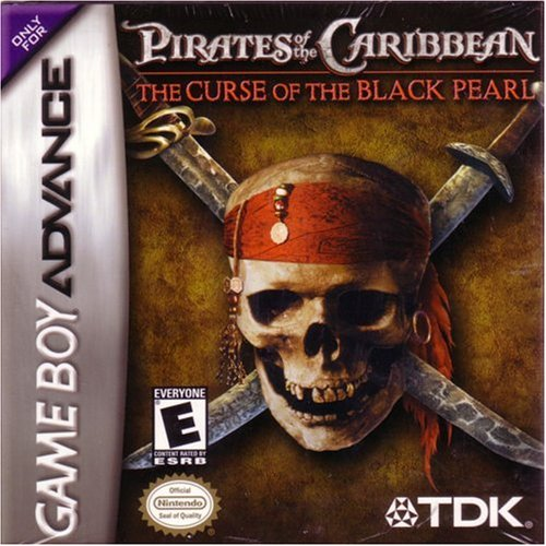 Pirates Of The Caribbean: The Curse Of The Black Pearl For GBA Gameboy
