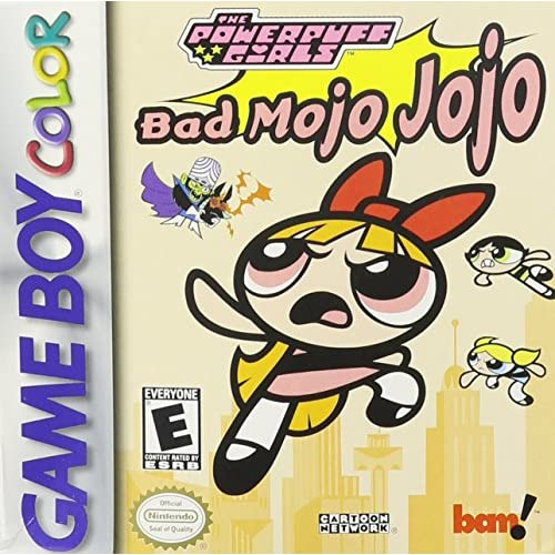 The Powerpuff Girls: Bad Mojo Jojo On Gameboy Color