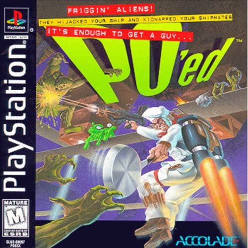 Image 0 of Po'ed PlayStation For PlayStation 1 PS1 Shooter