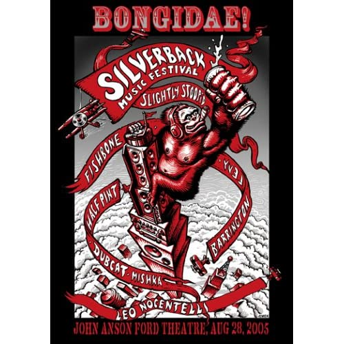 Image 0 of Bongidae: First Annual Silverback Music Festival On DVD Music & Concerts