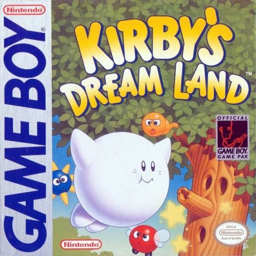 Kirby's Dream Land On Gameboy With Manual and Case