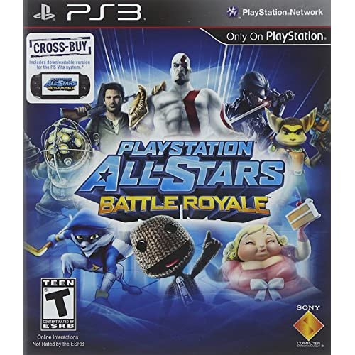 PlayStation All-Stars Battle Royale For PlayStation 3 PS3 Fighting